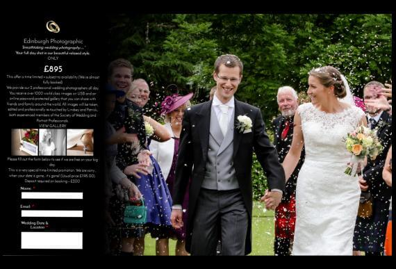 Edinburgh Photographic Weddings