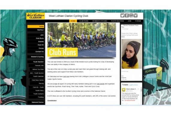 clarion cycling club, West Lothian