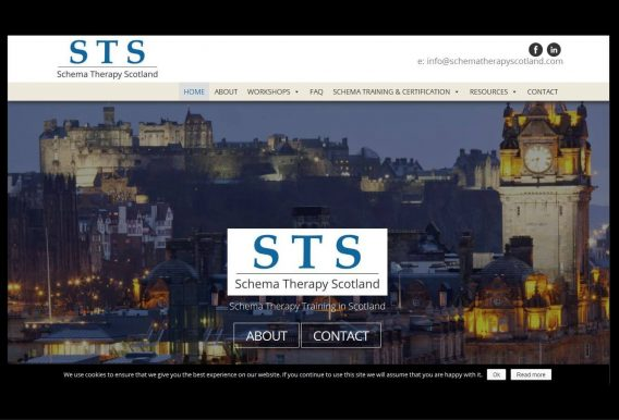 Website design for Schema Therapy Scotland